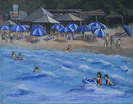 Day At The Beach by Michael Beckett