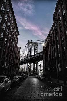 Day break at the Manhattan Bridge by Danny Nestor