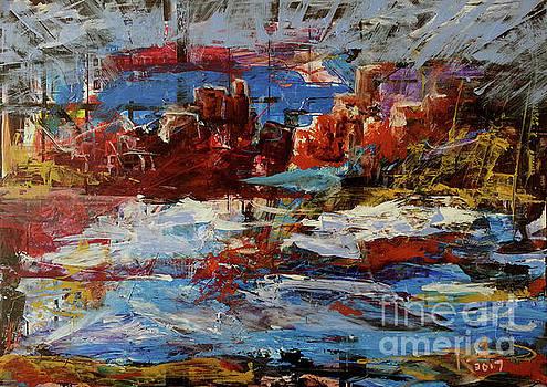 Day Dreaming Sedona Arizona by Reed Novotny