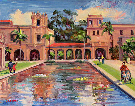 Day in Balboa Park San Diego by Robert Gerdes