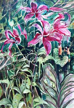 Day Lilies Day Light by Mindy Newman
