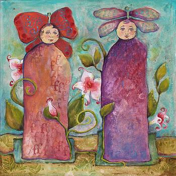 Day Lilies by Joella Guaraglia-Wheeler
