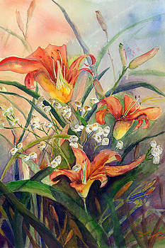 Day Lillies by David Ignaszewski