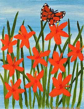 Artists With Autism Inc - Day Lilly Butterfly