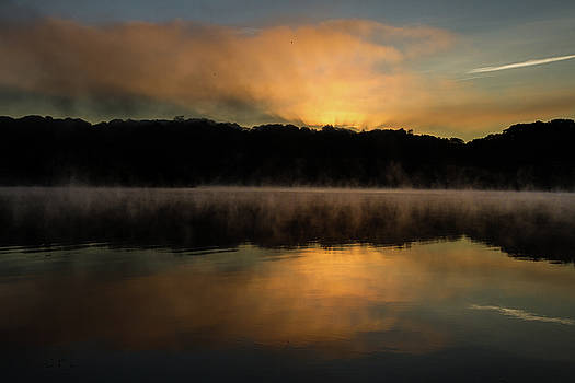 Daybreak at Lakewood, Waterbury Connecticut by Skyelyte Photography by Linda Rasch