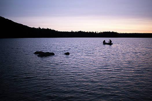 Daybreak at Willard Pond by Morgain Bailey