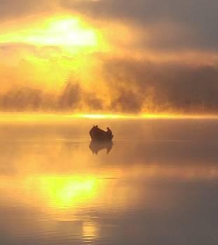 Daybreak Fishermen by CK Brown