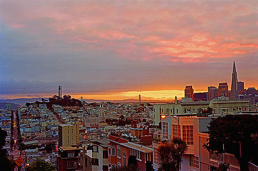 Daybreak Over San Francisco by James Rasmusson