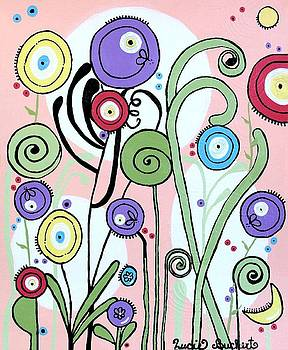 Daydream Flowers by Lucie Buchert