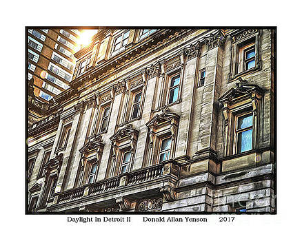 Daylight In Detroit II by Donald Yenson