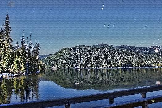 Daylight Shower over Lost Lake by John Winner