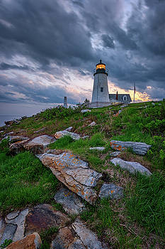 Day's End at Pemaquid Point by Rick Berk