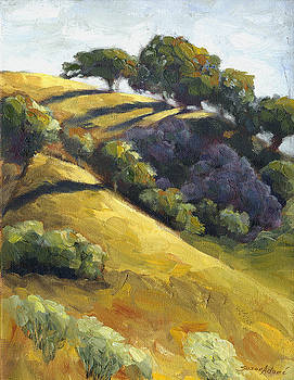 Days End in California Hills  by Susan Adame