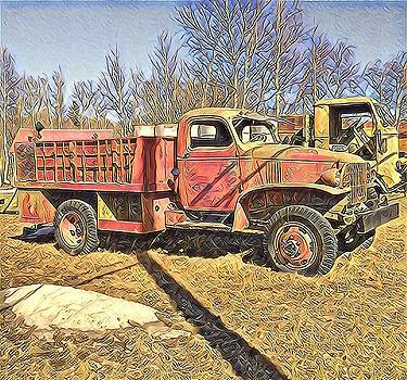 Days of Old Canol Pipeline Project  by Barb Cote
