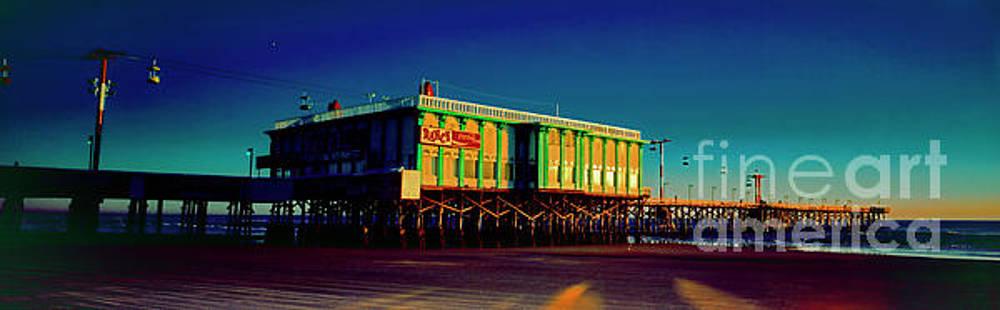 Daytona Beach Famous  Ocean Pier Dancing fishing 3030300175 by Tom Jelen