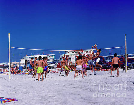 Daytona Beach Volley Ball 2 by Tom Jelen