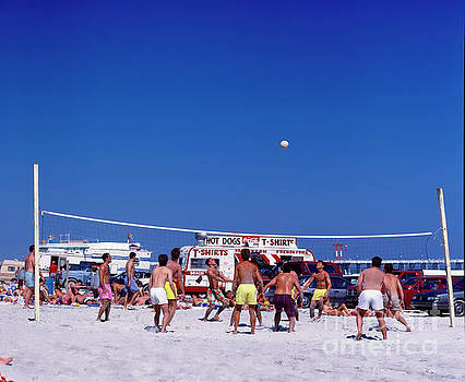 Daytona Beach Volley Ball by Tom Jelen