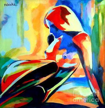 Dazzling figure by Helena Wierzbicki