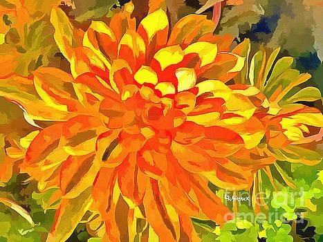 Dazzling Succulent by Linda Weinstock