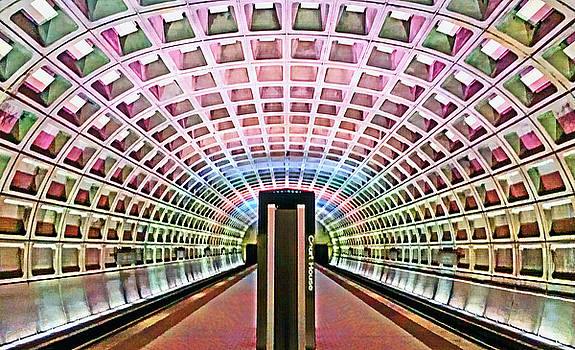 DC Metro Architecture by Suzanne Stout