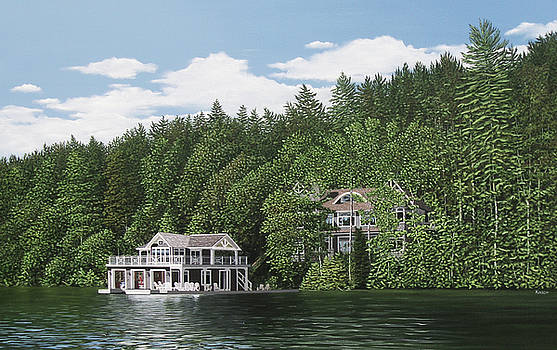 De Groote Summer Home Muskoka by Kenneth M Kirsch