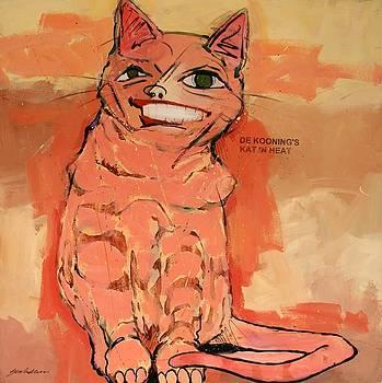 De Kooning's Kat in Heat by Bert Seabourn