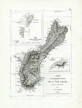 De L Ile Gwam Guam by Freycinet  DuPerry