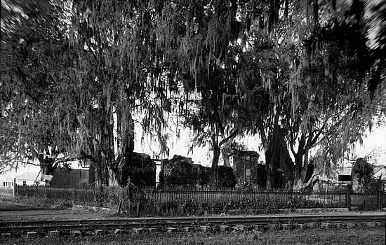 De la Ronde plantation home ruins by Crescent City Collective
