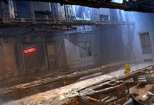 Dead End Alley by Hal Tenny