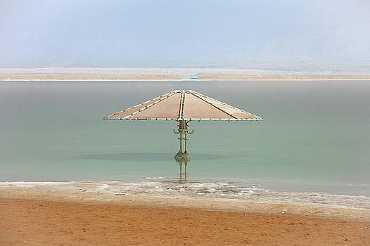 Dead Sea lanscape by Mikhail Pankov