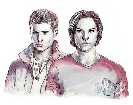 Dean and Sam by Adesina Artist