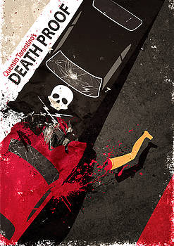 Death Proof Quentin Tarantino Movie Poster by IamLoudness Studio