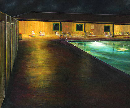 Death Valley Pool by John Tregembo