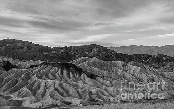 Death Valley Undulating Hills  by Jeffrey Hubbard