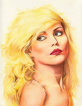 Debbie Harry -Blondie by Philip Gray
