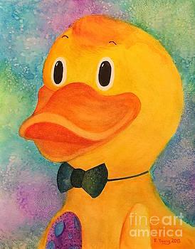 Debonair Duck by Emily Young