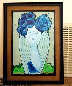 Deborah In A Vase by Robert Catapano