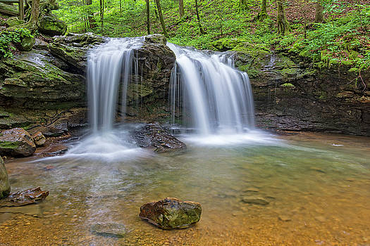 Debord Falls At Frozen Head State Park by Jim Vallee