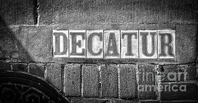 Decatur Street NOLA- BW by Kathleen K Parker