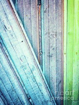 Decayed metal door by Silvia Ganora