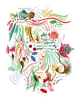 December Hustle and Bustle by Jennifer Ahern