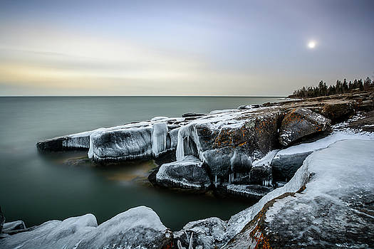 December Ice by Gary Harris