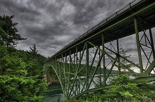Deception Pass Bridge - Oak Harbor, WA by Kevin Pate