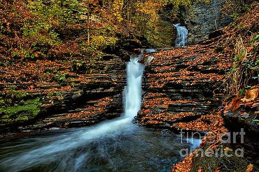 Deckertown Falls by Matthew Winn