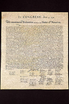Declaration of Independence by Jack R Perry