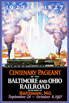 Jost Houk - Deco Baltimore Ohio Railroad