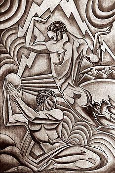 Deco Force warm silver by Tony Franza