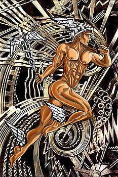 Deco Mercury Rising by Tony Franza