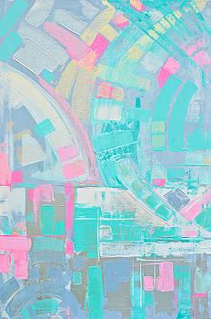Deconstructed flamingo by Paola Correa de Albury
