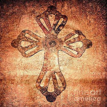 Decorative Antique Cross A39816 by Mas Art Studio